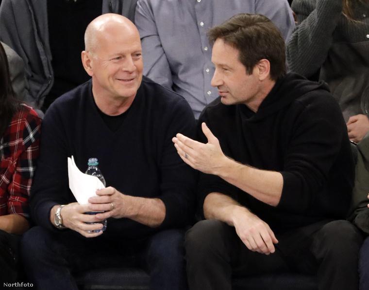 Nézze csak meg, milyen jól kijön egymással a két színészóriás