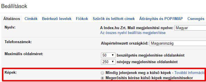 gmail képletiltás desktop