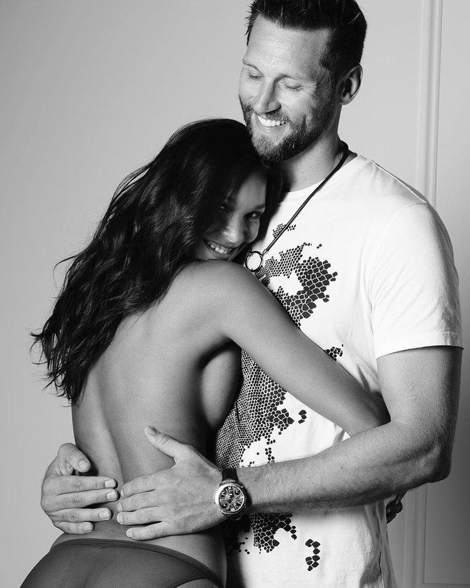 Lais Ribeiro és kosárlabdázó szerelme, Jared Homan, így szereti egymást már 2015 óta.