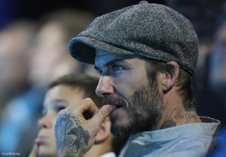 A 41 éves David Beckham.