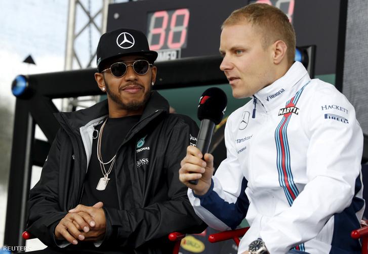 Hamilton és Bottas