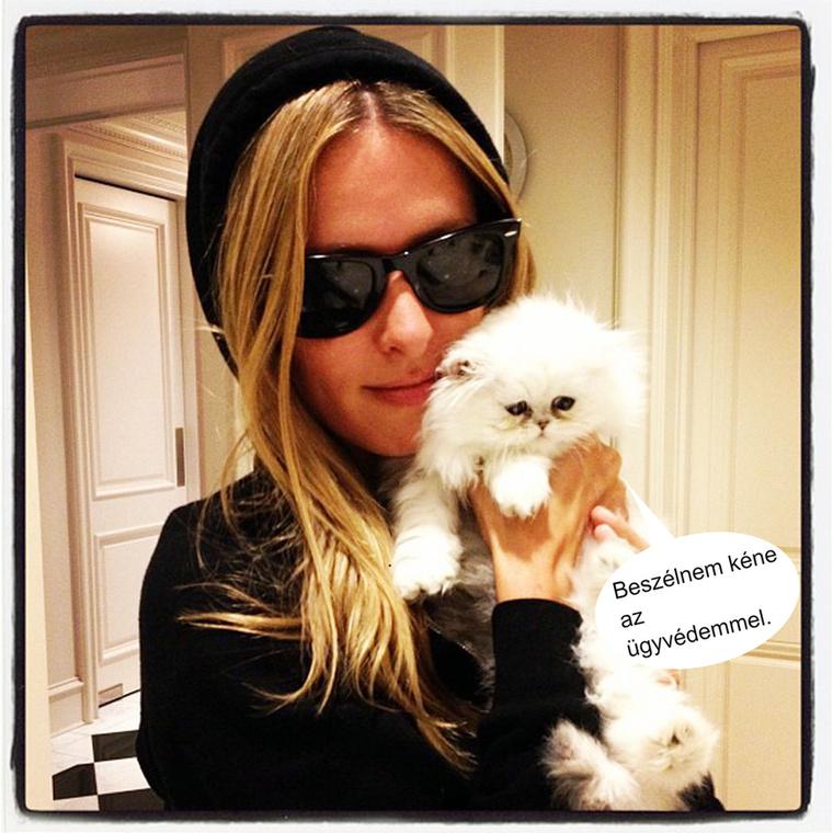Nicky Hilton joggal készül fel a legrosszabbra azzal, hogy a felismerhetetlenségig öltözteti magát