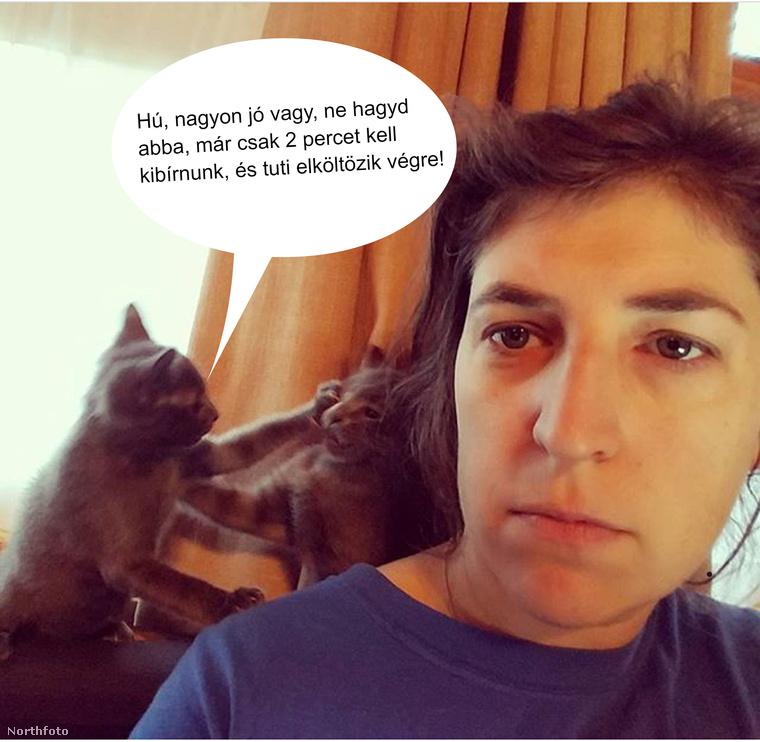 Ahogy az Agymenőkből ismert Mayim Bialik sem, amikor már megint végig kell asszisztálnia a hajnali öldöklést