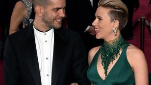 Gyermeke apjával mutatkozott a válófélben lévő Scarlett Johansson