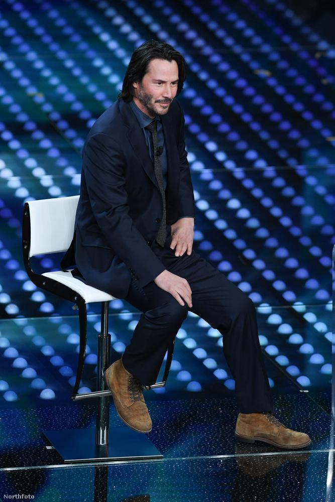 Keanu Reeves vendégeskedett a 67