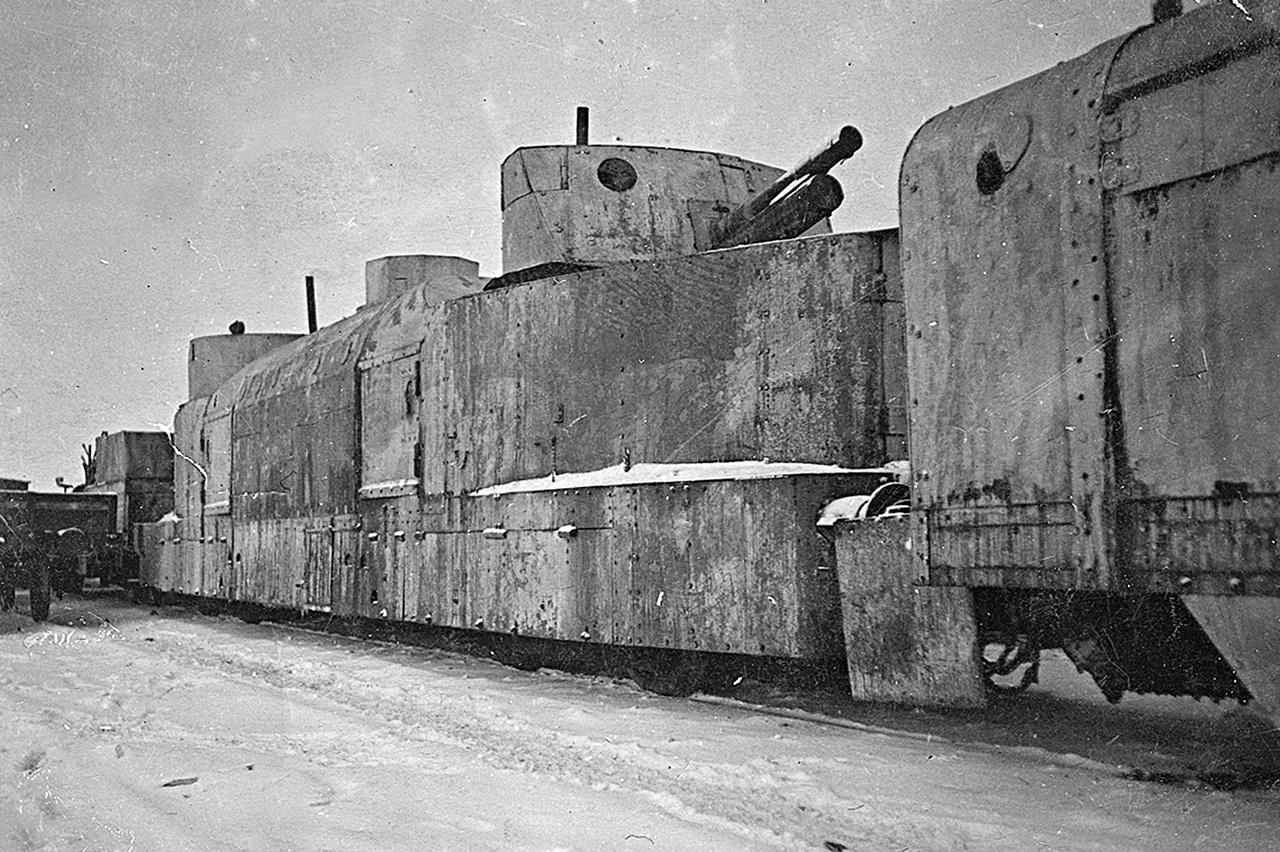 Német páncélvonat, 1942.