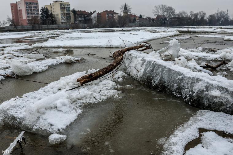 Az áradat nagy erővel sodorja el, ami az útjába kerül, például a fákat, köveket
