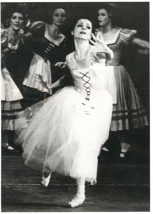 Pártay Lilla a Giselle-ben 1979-ben