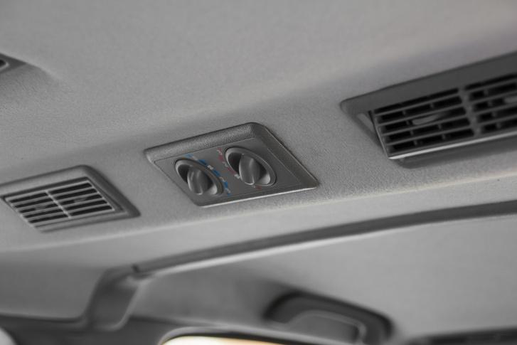 Az utasok a hátsó klímát maguknak szabályozhatják