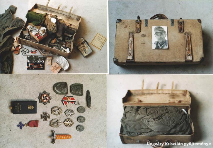 Wilhelm Schöning alezredes a kitörés után az összes nála lévő tárgyat gondosan becsomagolta és haláláig ebben a kofferben tartotta. Minden bizonnyan traumatikus élményei fűződhettek ezekhez. Már a kitörés elején megsebesült (egyik lábán az achilles-ínt találta el egy repesz), majd nem sokkal a német első vonal előtt három tüzérségi repeszdarabtól igen súlyos sérüléseket szenvedett. A csomagba ezeket a repeszeket is gondosan elrakta.