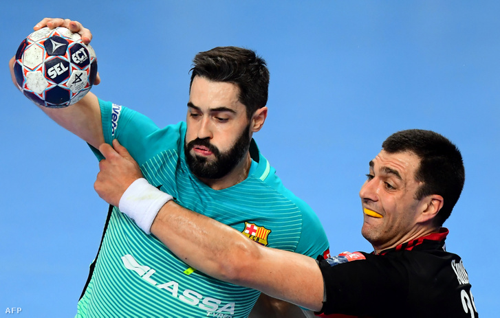 Raul Entrerrios (Barcelona) és Renato Sulić (Veszprém) párharca