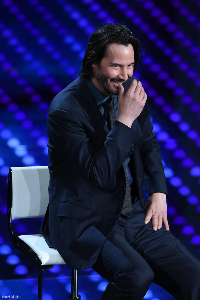 Ki nevet a végén?                         Keanu Reeves, hát tényleg megéltük ezt is!