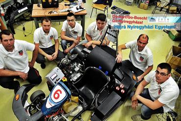 Egy versenyjármű Nyíregyházáról - a gépészetnek évtizedes hagyományai vannak itt, és az önálló járműgépész-képzés beindulása előtt is létezett ilyen szakirány