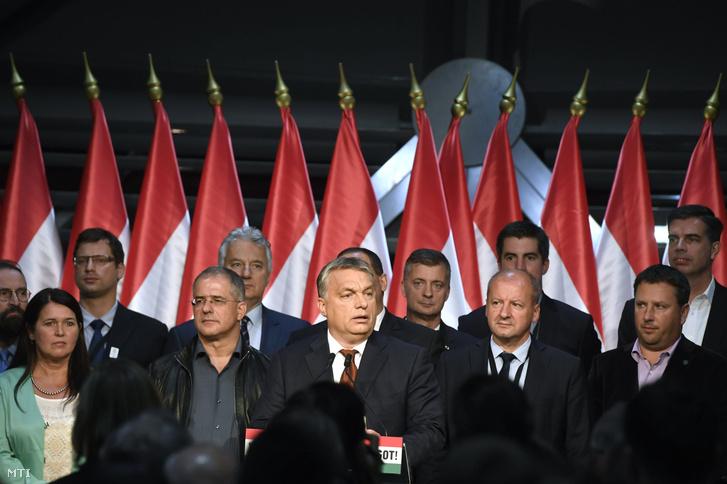 Népszavazás után Orbán Viktor