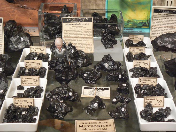 Szihote-Aliny meteoritok