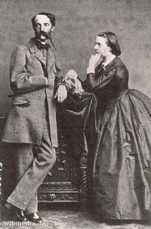 István nádor és ikertestvére, Hermina főhercegnő