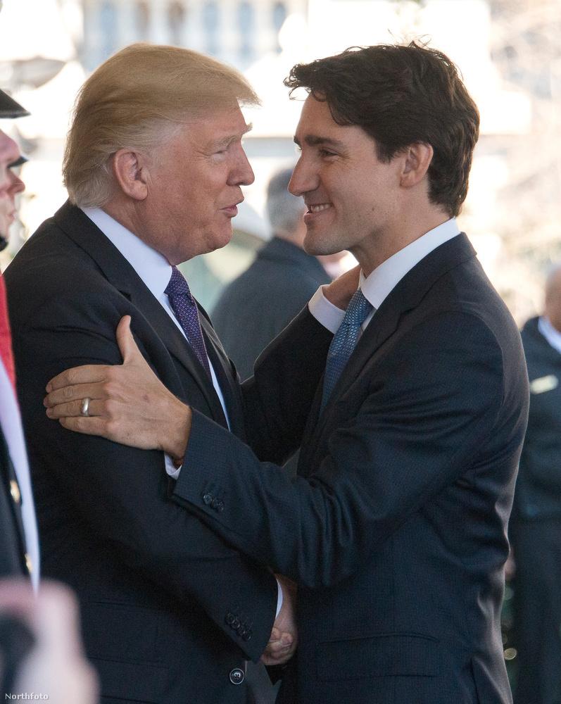 Mikor a békés és liberális Justin Trudeau fején is átfut egy Mike Tyson pillanat