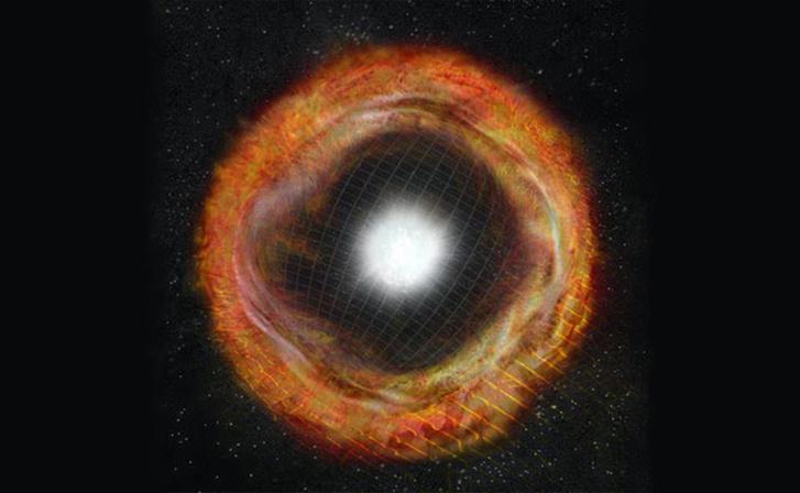 Így nézhetett ki az SN 2013fs a robbanás után