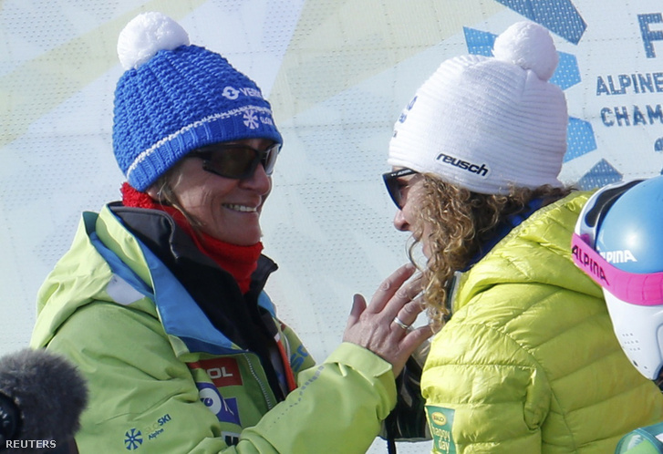 Darja Crnko és Ilka Stuhec