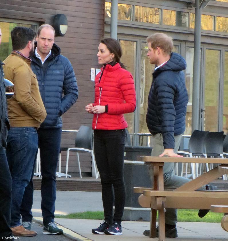 Katalin hercegné a múlt heti londoni BAFTA-gálán mutatta meg merészen szabadon hagyott vállait, most pedig egy társadalmi célú filmforgatáson vett részt férjével, Vilmos herceggel és sógorával, Harry herceggel