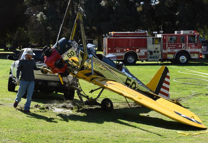 Harrison Ford 2015-ös balesete