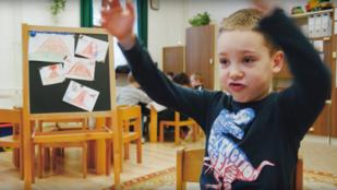 Magyar ovisok magyarázzák el a vulkán működését, videón
