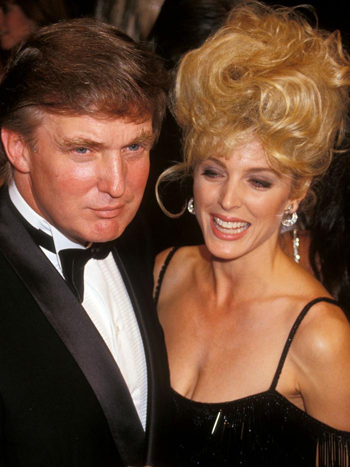 Trump és Marla Maples
