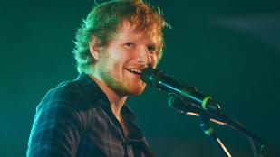 Ed Sheerant nem engedték be a kiadója bulijába