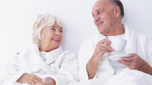 Az idősebbek reggel szeretkezzenek