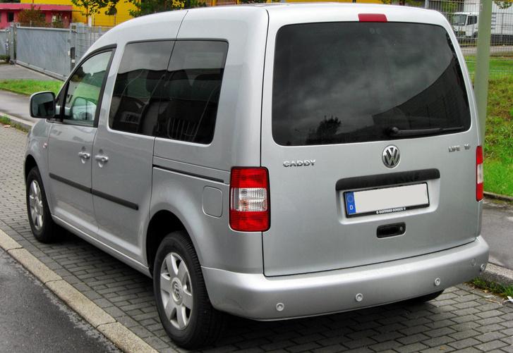 VW Caddy Life III rear 20091003