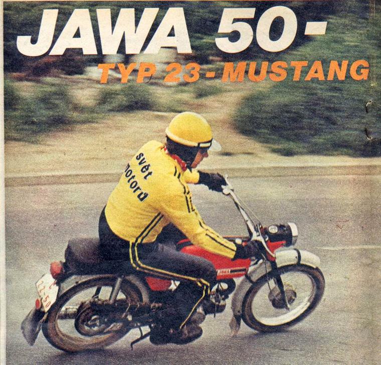 Jawa Mustang - jól emlékszem az első motorkerékpáros olvasmányélményemre, a Kadner-féle Kismotorkerékpárokra