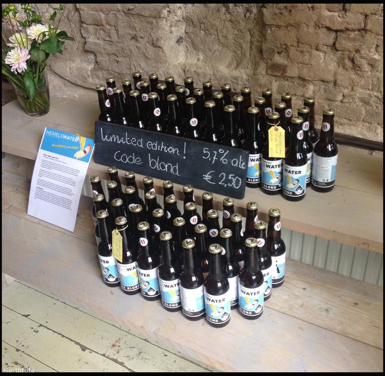 Aki esővízből készült sört akar inni, annak Hollandiáiba kell mennie.