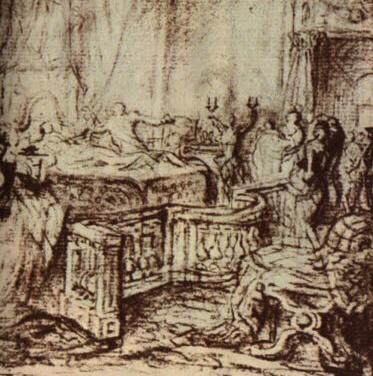 XVI. Lajos és Maria Antoinette gyermekének születése