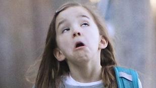 Ben Affleck lánya aztán tud grimaszolni