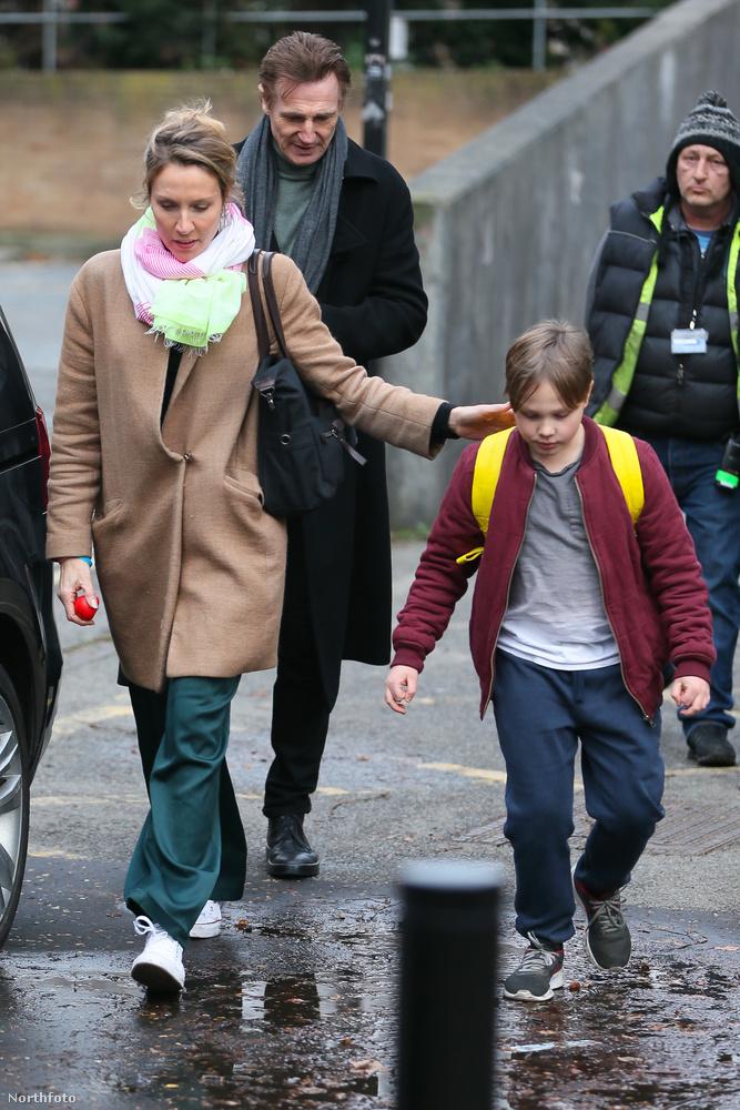 A forgatás február 16-án kezdődött, Liam Neeson már az első napon megérkezett a londoni helyszínre, a Tate Gallery mellé