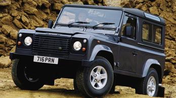 A Land Rover elvesztette a régi Defender-formaterv jogait