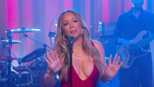 Íme, Mariah Carey első fellépése a szilveszteri nagy lebőgés óta