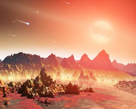 A NASA képe egy hideg csillag fiatal bolygójáról