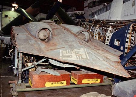 A világháborús gép egyetlen megmaradt példánya