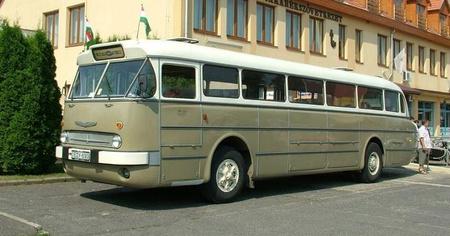 Az IK55-ös, másnéven Faros szépen karbantartott darabja