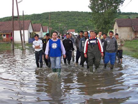 Mága Zoltán és az árvíz