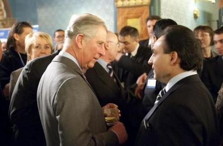 Mága Zoltán és Károly herceg