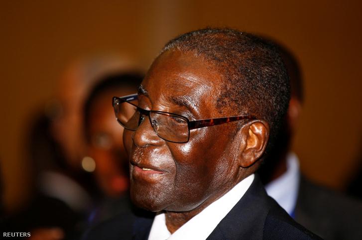 Robert Mugabe, a legoptimistább jelölt