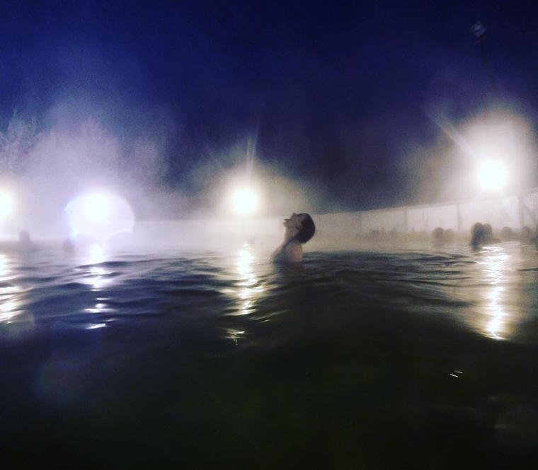 A kanadai Takhini Hot Pools hotel 2011 óta rendezi meg minden évben a hajfagyasztó versenyét