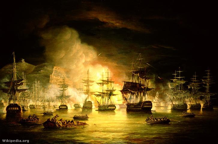 Algír lövetése 1816 augusztusában