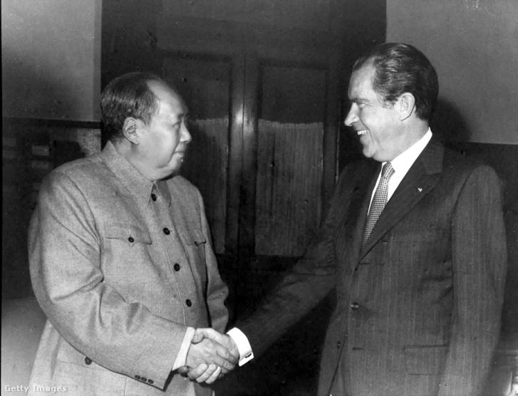 Nixon és Mao találkozója