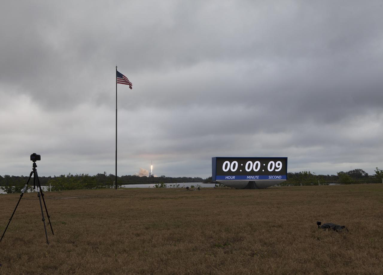 Majdnem hat év kellett hozzá, hogy újra ilyen látványban részesülhesenek a Kennedy Űrközpont látogatói.
