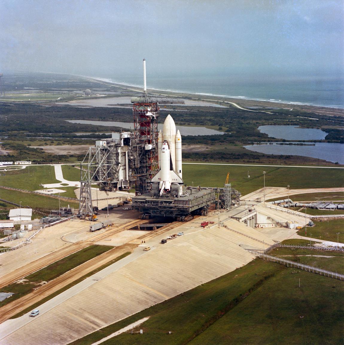 1981. augusztus 31. A Columbia második útjára készül.