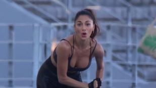 Nicole Scherzinger ilyen látványosan gyúrja szexivé magát