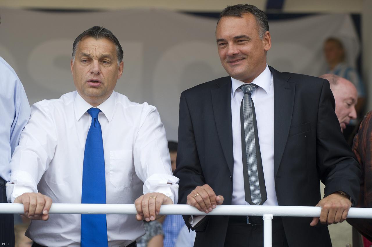 Orbán Viktor és Borkai Zsolt